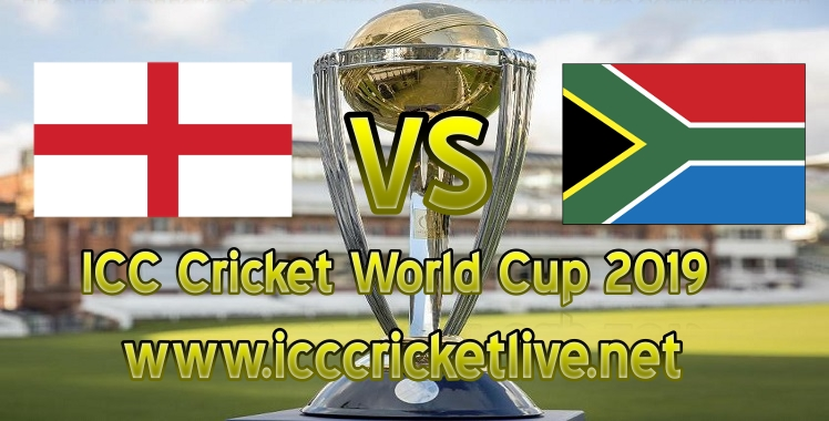 England VS South Africa Live Stream Cricket World Cup 2019