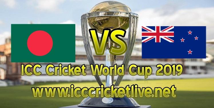 Bangladesh VS New Zealand Live Stream Cricket World Cup 2019