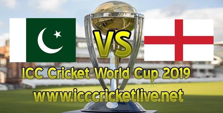 England VS Pakistan Live Stream Cricket World Cup 2019