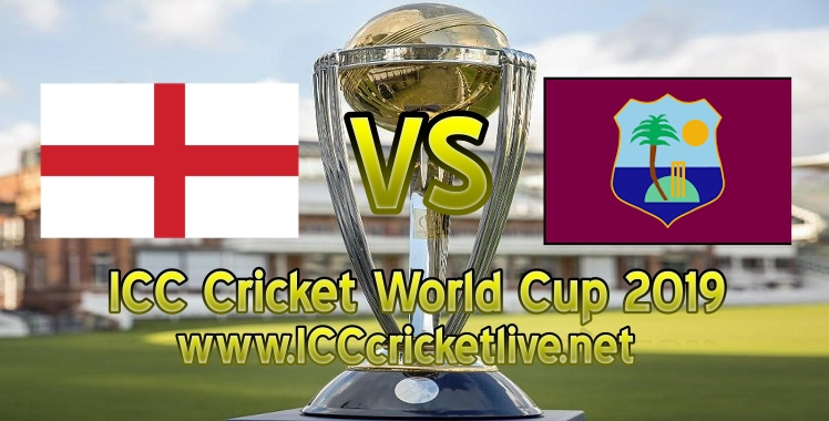 England VS West Indies Live Stream Cricket World Cup 2019