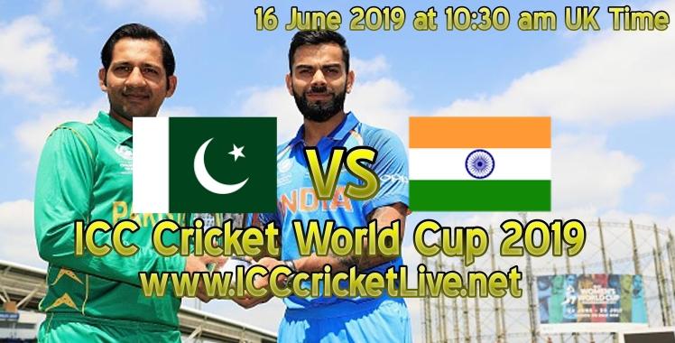 Live cricket match pakistan vs india 16 june
