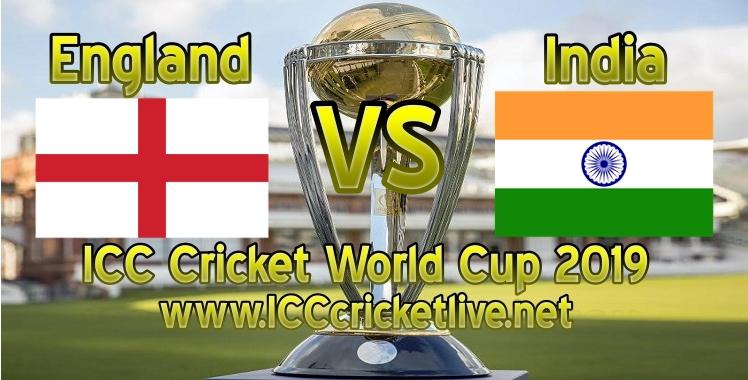 England VS India Live Stream Cricket World Cup 2019