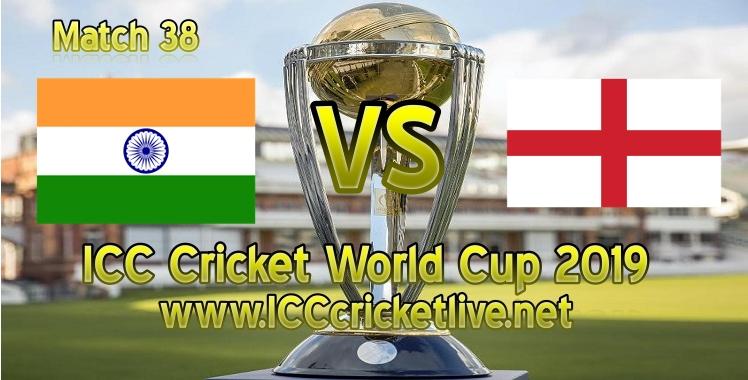 India VS England Live Stream 2019 Cricket World Cup
