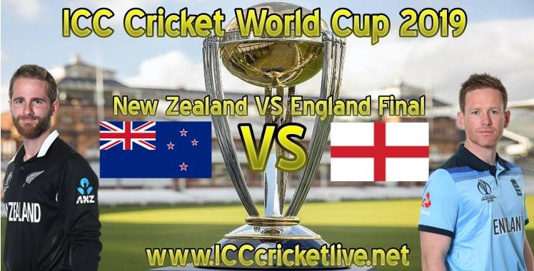 2019 New Zealand VS England Final Live Stream