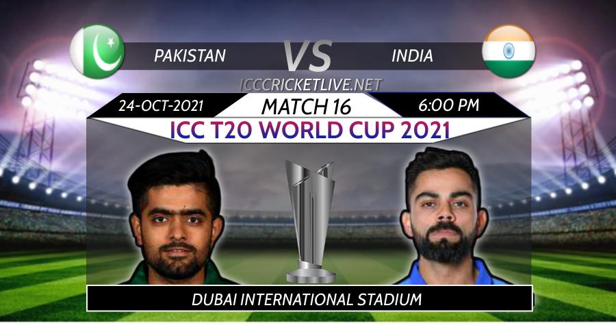 Pakistan VS India T20 WC Live Stream