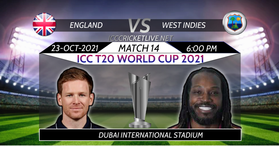 West Indies VS England T20 WC Live Stream