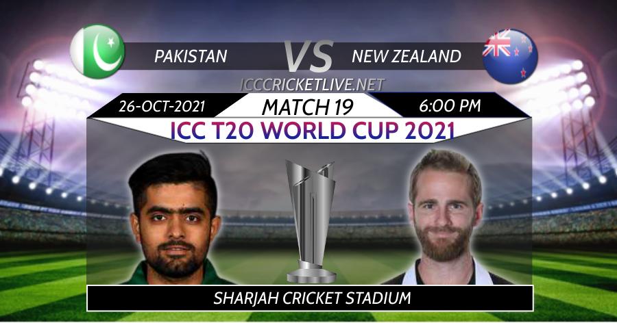 New Zealand VS Pakistan T20 WC Live Stream