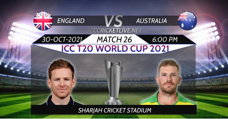 Australia VS England T20 WC Live Stream