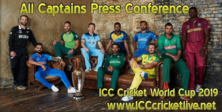 All Captains Press Conference ICC Cricket World Cup 2019