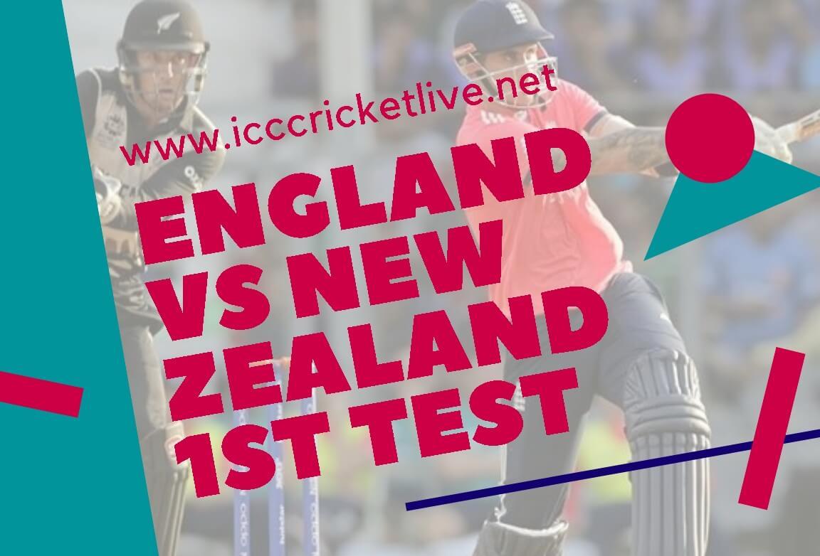 New Zealand Vs England 1st Test