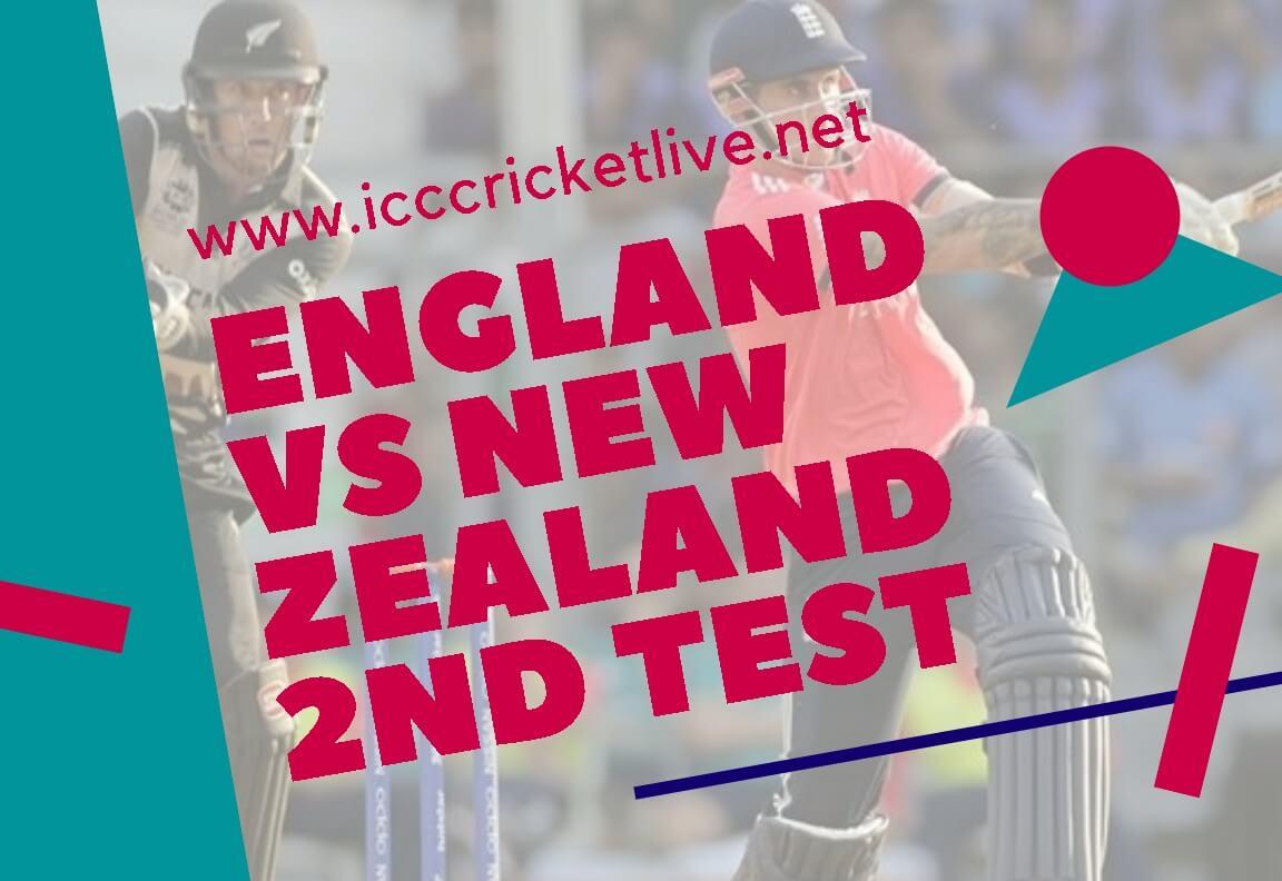 New Zealand Vs England 2nd Test