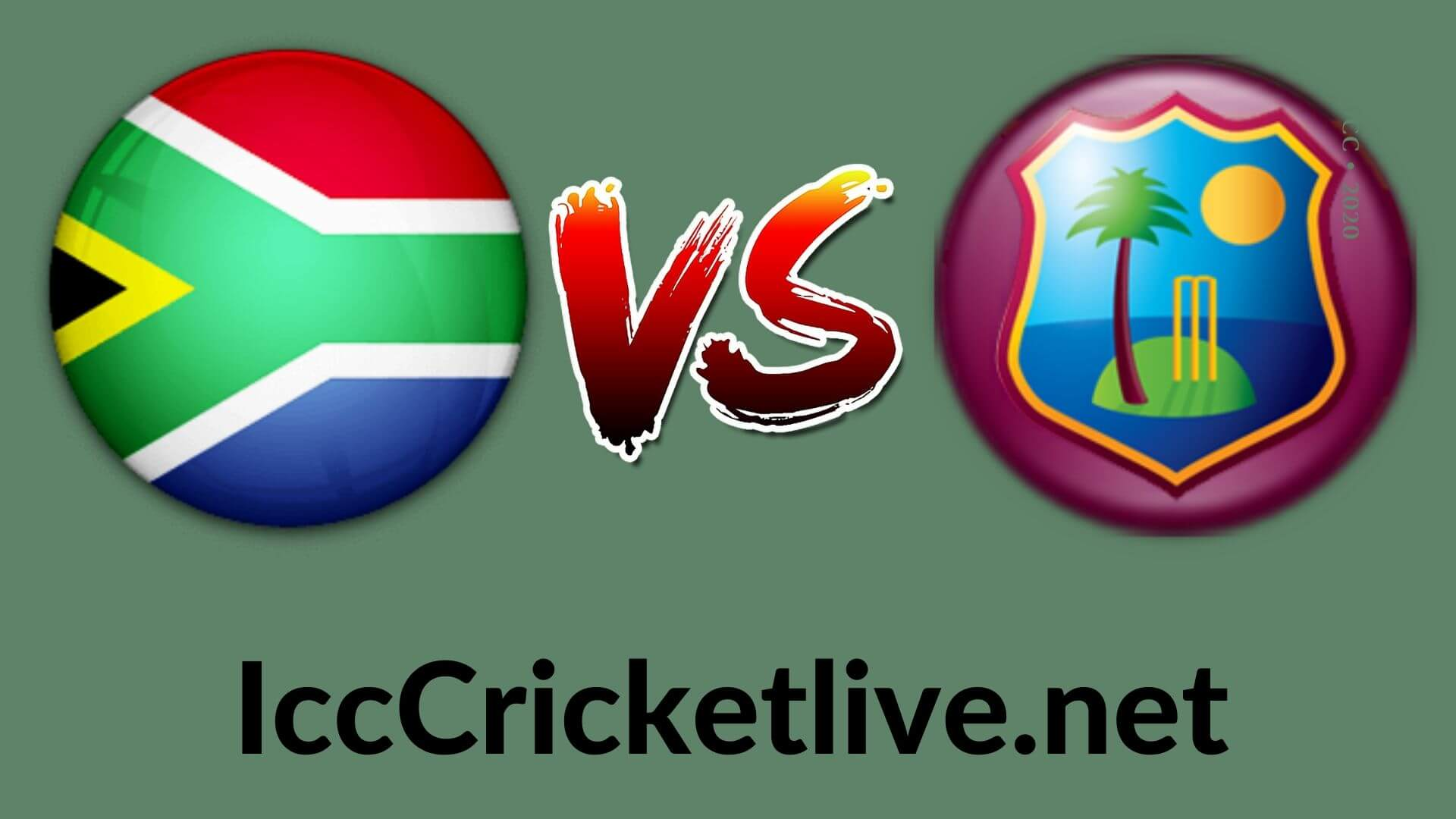 South Africa vs West Indies  Live 2020 | 3rd T20I