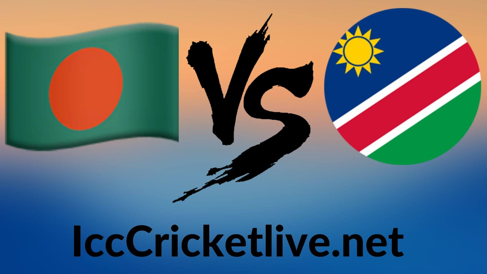 Bangladesh Vs Namibia Live 2020 | T20 WC 3rd Match, First Round Group B
