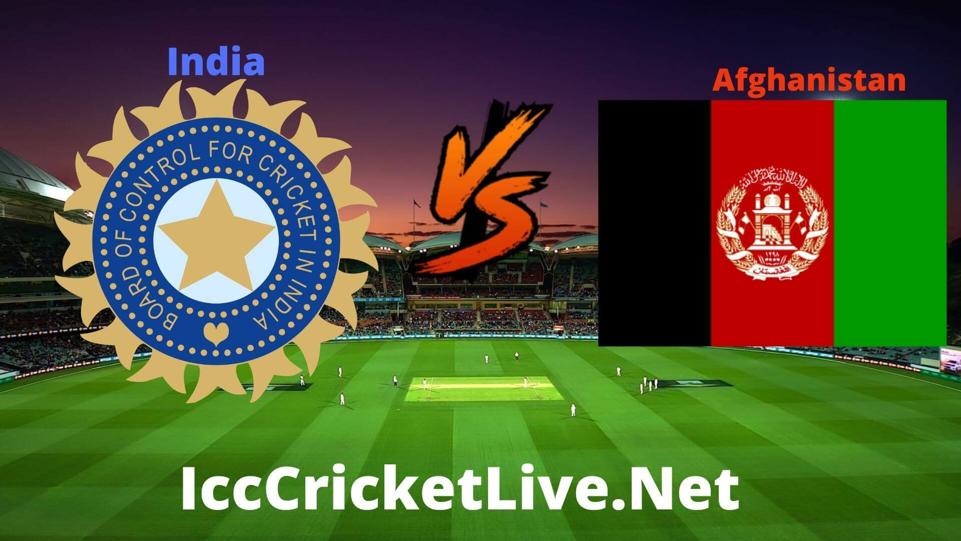 India vs Afghanistan Live 2020 | T20 WC Match 42nd Group 2
