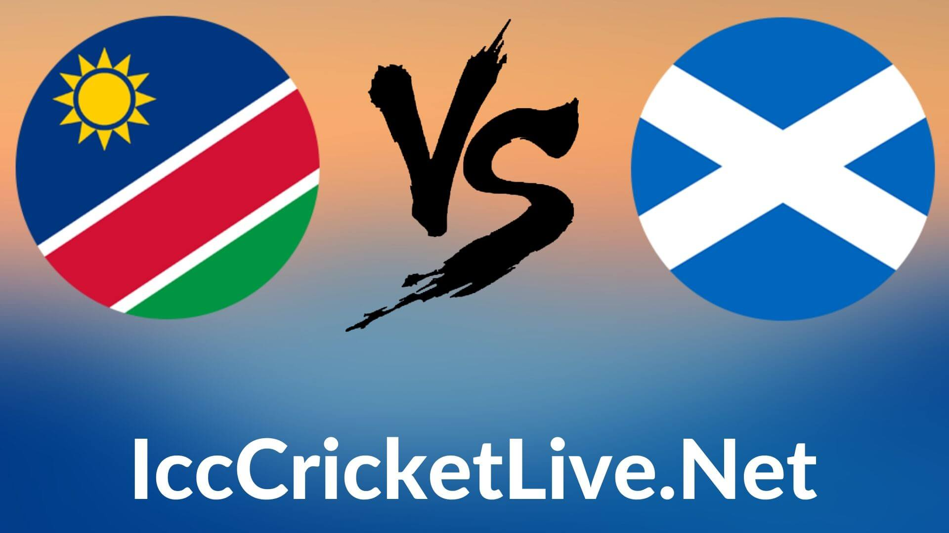 Namibia Vs Scotland Live 2020 | T20 WC 7th Match, First Round Group B