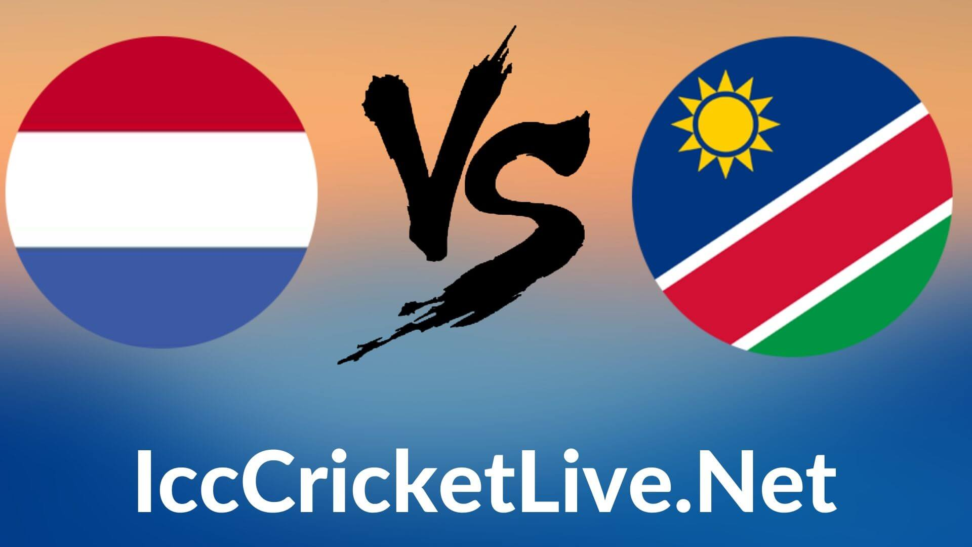 Netherland vs Namibia  Live 2020 | T20 WC 11th Match, First Round Group B