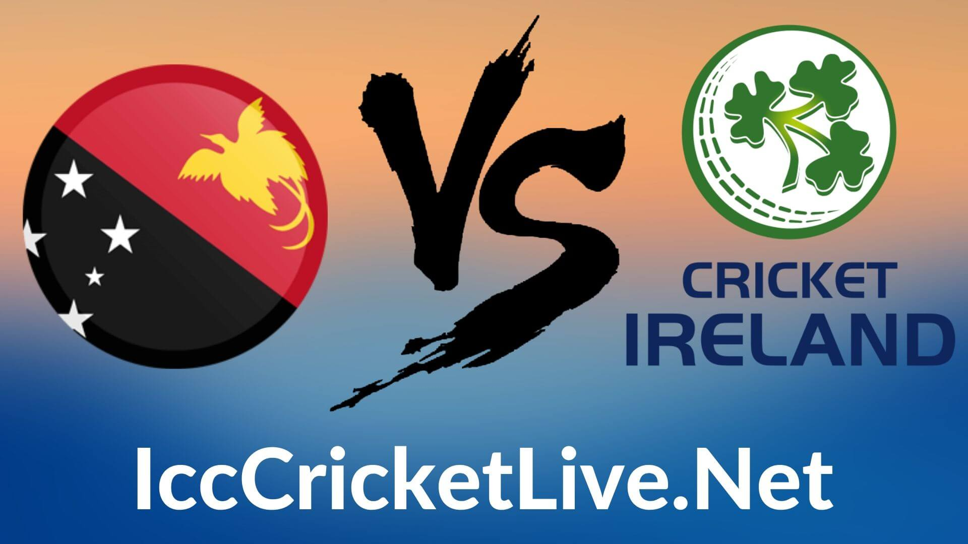 Papua New Guinea vs Ireland  Live 2020 | T20 WC 9th Match, First Round Group A