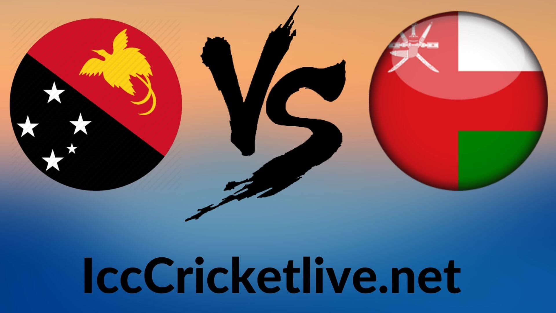 Papua New Guinea vs Oman Live 2020 | T20 WC  2nd Match, First Round Group A