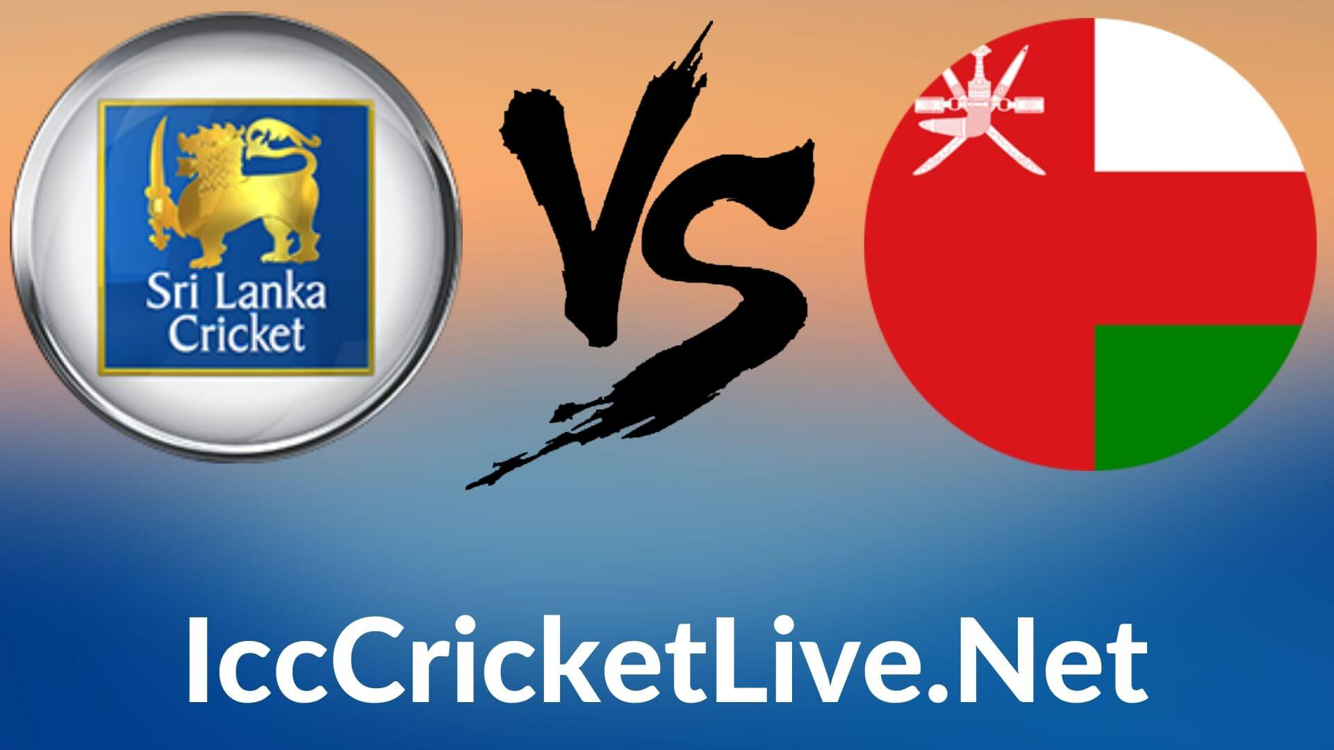Sri Lanka Vs Oman Live 2020 | T20 WC 10th Match, First Round Group A