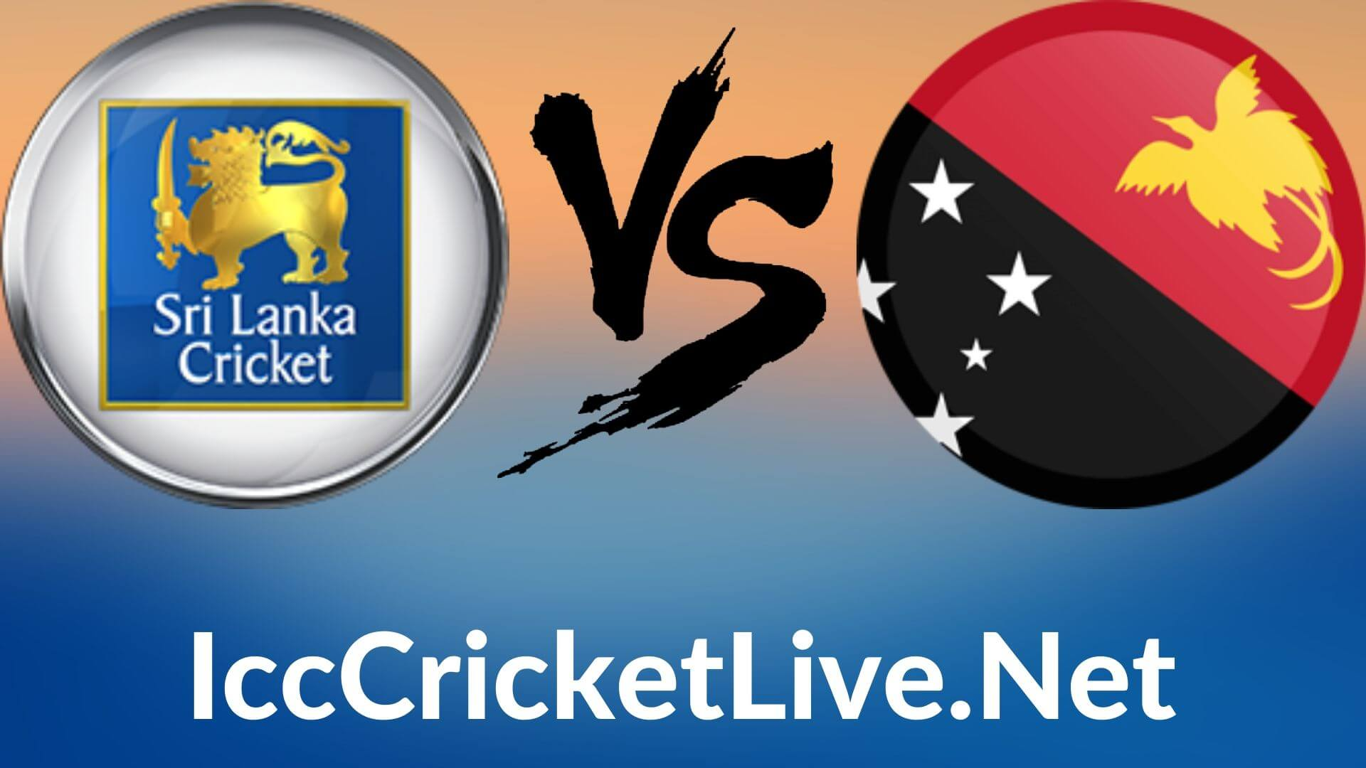 Sri Lanka vs Papua New Guinea Live 2020 | T20 WC 6th Match, First Round Group A